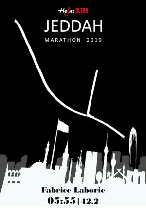 Certificate Jeddah Marathon 2019