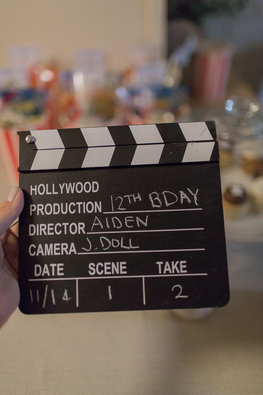 Aiden's 12th Birthday Movie Party