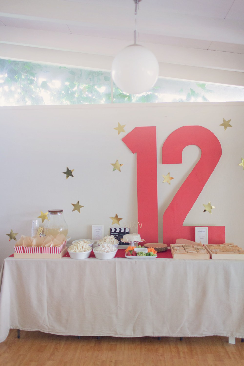 A Movie inspired pre-teen birthday party