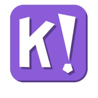Bild på loggan av Kahoot, som leder till en frågesport om tång