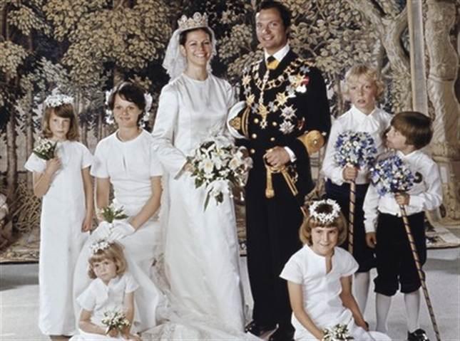 Hochzeiten im schwedischen Knigshaus Bilder von Carl