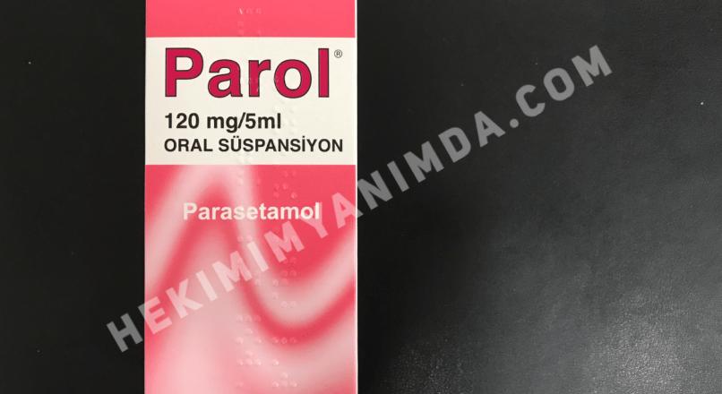 Parol 120mg/5ml 150ml Oral Süspansiyon