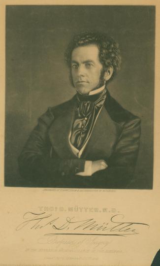 portrait of Thomas Mutter
