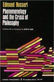 كتب فلسفية The Crisis of European Sciences and Transcendental Phenomenology by Edmund Husserl