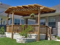 Exterior Backyard Patio Pergola Ideas Design With Wooden ...
