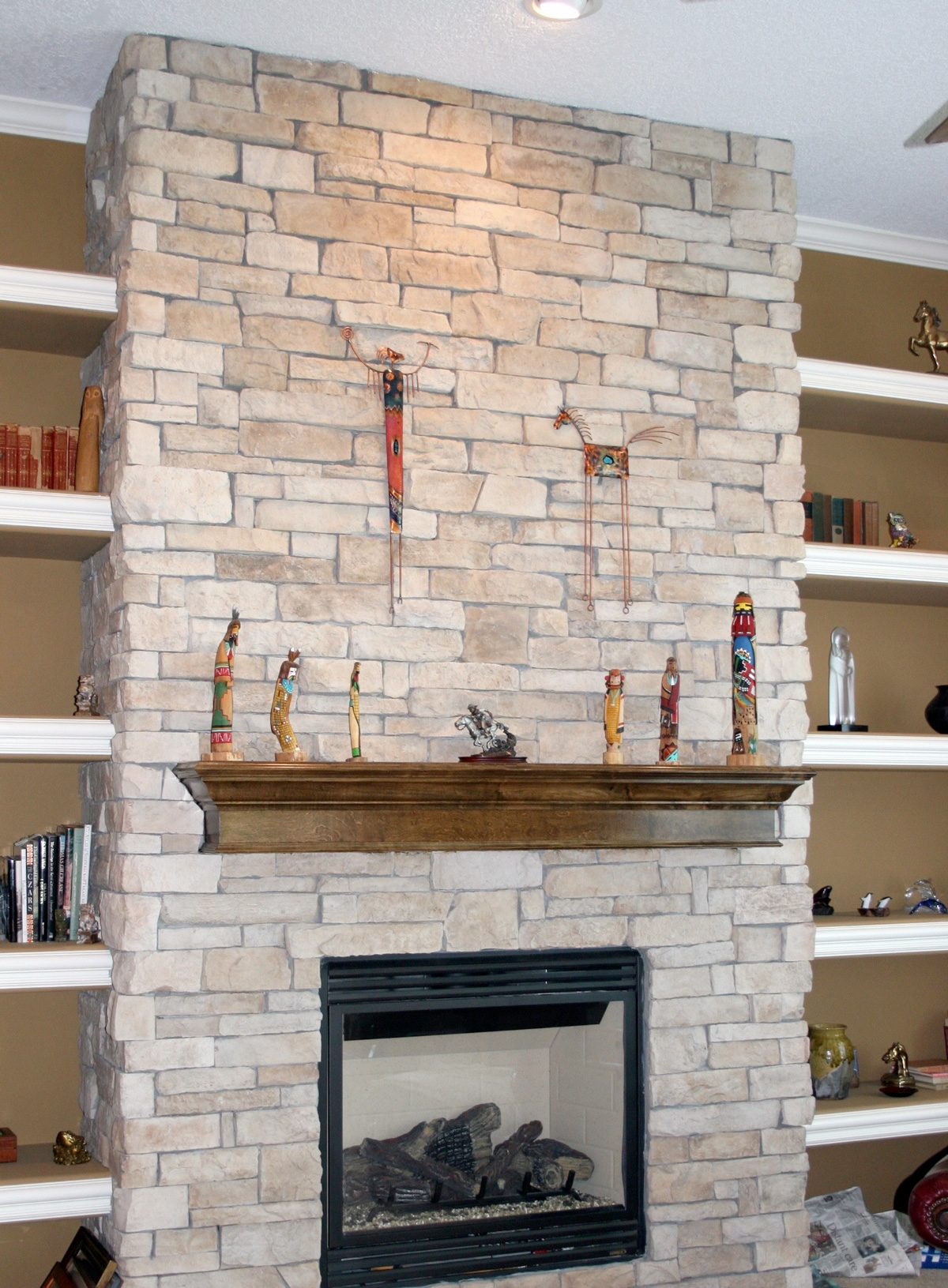 Inspiring Ideas Exquisite Rock Fireplace Ideas Backyard