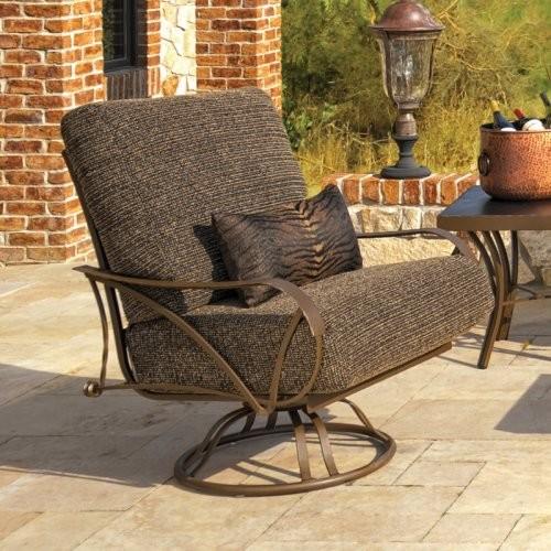 swivel rocker patio chairs wicker