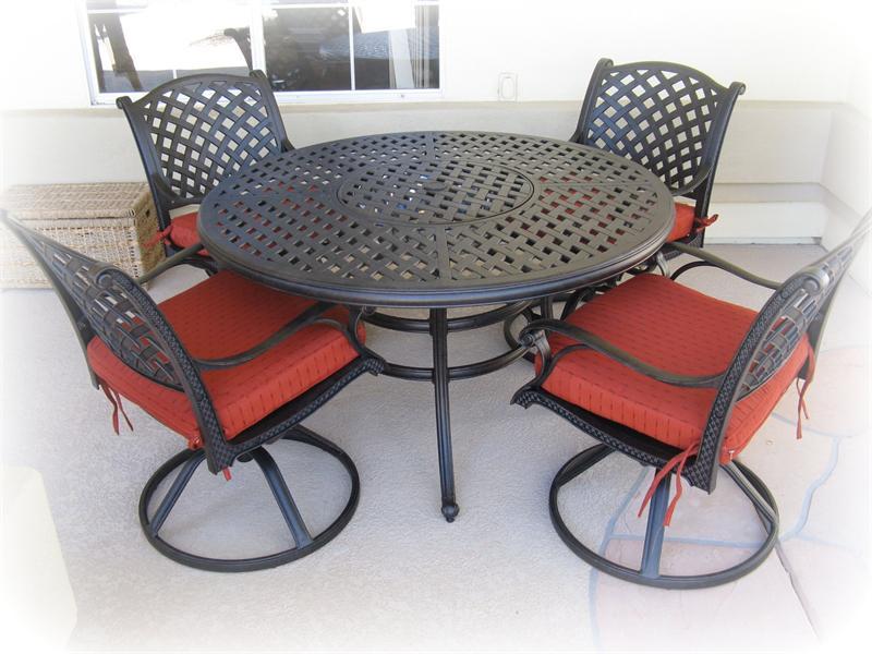 best round patio furniture with round