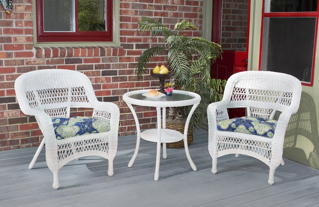 best white resin wicker patio furniture