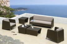 Homes And Gardens Outdoor Furniture Brown Rattan