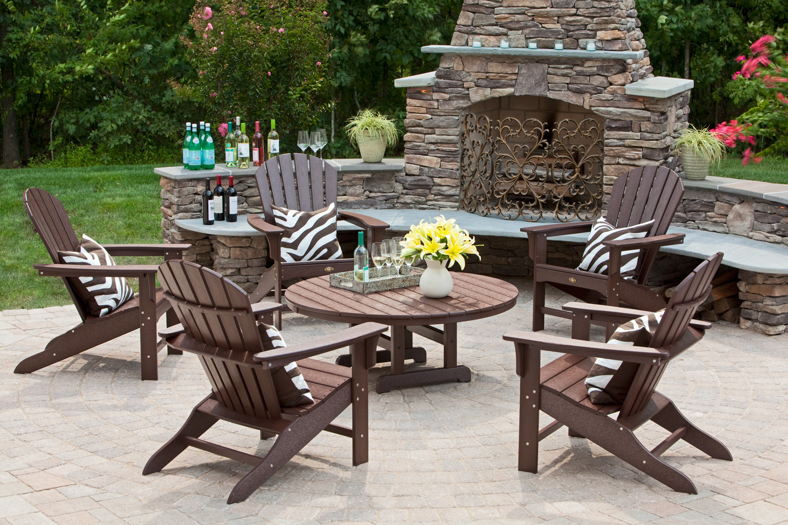Better Homes And Gardens Outdoor Furniture Brown Wooden