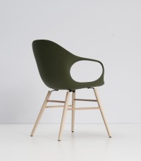 Modern Fold Design Foot On Elephant Chair With Wooden ...