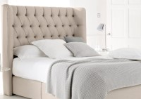 Furniture Cute Cheap Headboard Design Ideas With Beige ...