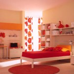 Beautiful Bedroom Sets Ikea With Cream Shelves On The Orange Floor With Round Carpet Can Add The Elegant Touch Inside Modern House Design Ideas Helda Site Furnitures Home Design