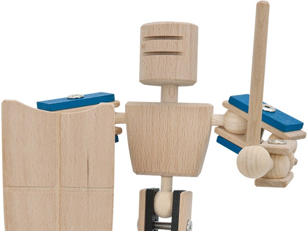 Holzspielzeug 2.0 - Ritter