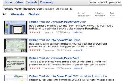 Embeber Vídeos Do YouTube Directamente No PowerPoint