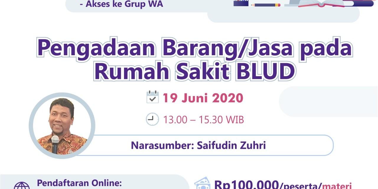Webinar Pengadaan Juni 2020