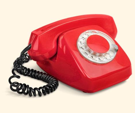 RodeTelefoon