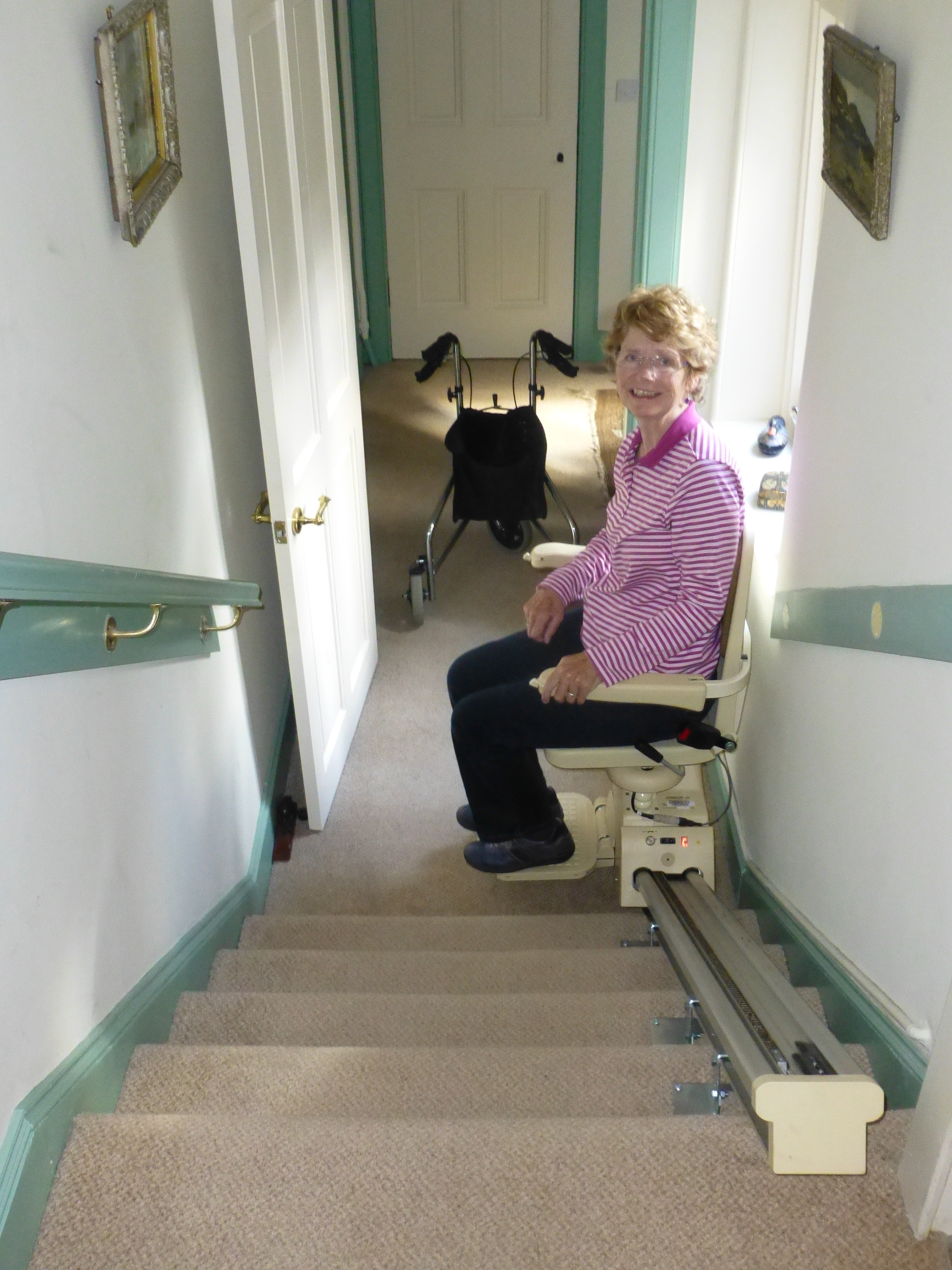 chair lifts for stairs with landings pink owl high power me and 39mandy 39 my mnd