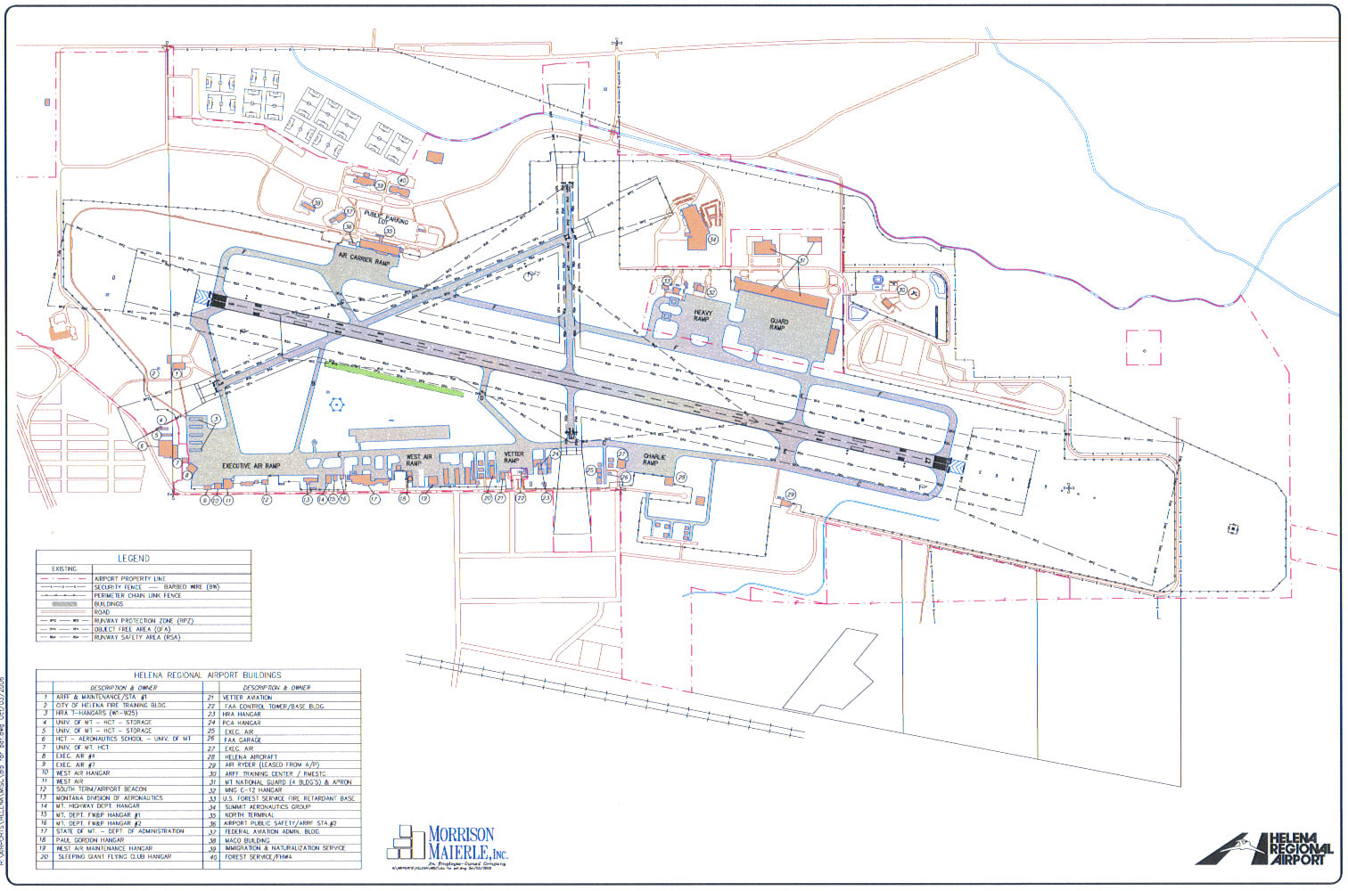 hight resolution of airport layout plan