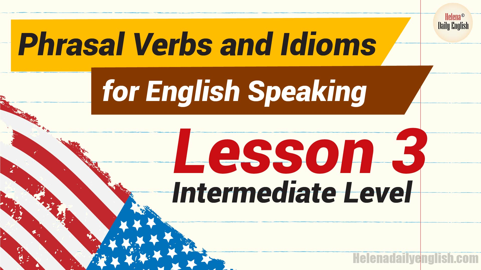12 English Phrasal Verbs And Idioms For Learning Amp Improving 4 Skills