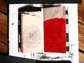 Un Libro Sulla Morte Omaggio a Ray Johnson, 2011©HelenaGath - Conservé aux Archives de NabilaFluxus, Morgano di Treviso, Italia