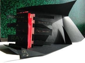 2Un Libro Sulla Morte Omaggio a Ray Johnson, 2011Performance, Artist Book Un Libro Sulla Morte, 2011©HelenaGath - Conservé aux Archives de NabilaFluxus, Morgano di Treviso, Italia