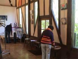 Exposition Plongée dans l'univers d'Helena Gath, Sully-sur-Loire, mai 2012