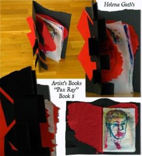 PAX RAY Serie 8th Book, 2011©HelenaGath