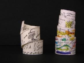 """Objects Books """"Siesta"""", """"Pise"""" 2010©Helena Gath"""