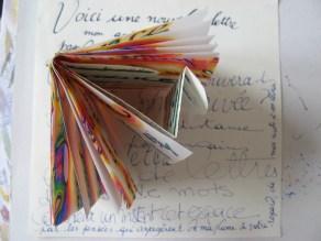 """Artist Mini Book """"Voici une nouvelle lettre..."""" 2013©HelenaGath"""