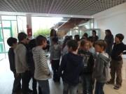 Visite des CM1 de Hélène Rosat, école des Omblais