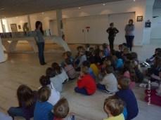 Visite des CP de Céline Bizette, école Raoul Follereau