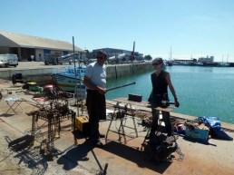 NDS 2015 JieM et Helena au travail ensemble