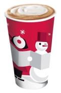 Starbucks Xmas snowman