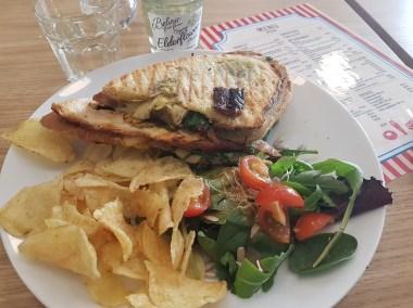Siciliana grilled sandwich