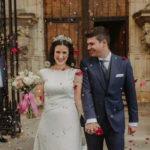 Foto de Paula en su boda