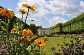 Le Petit Trianon in Versailles' gardens