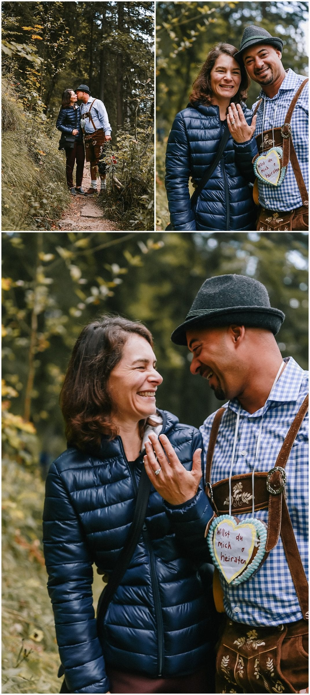 Neuschwanstein Castle Engagement Session and Proposal with Destination Portrait Photographer Helena Woods