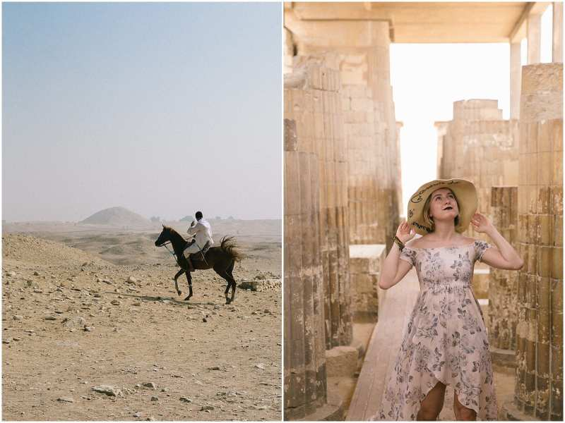 Helena Woods Egypt Pyramids and Sphinx plus a Review of Travel Talk Tour