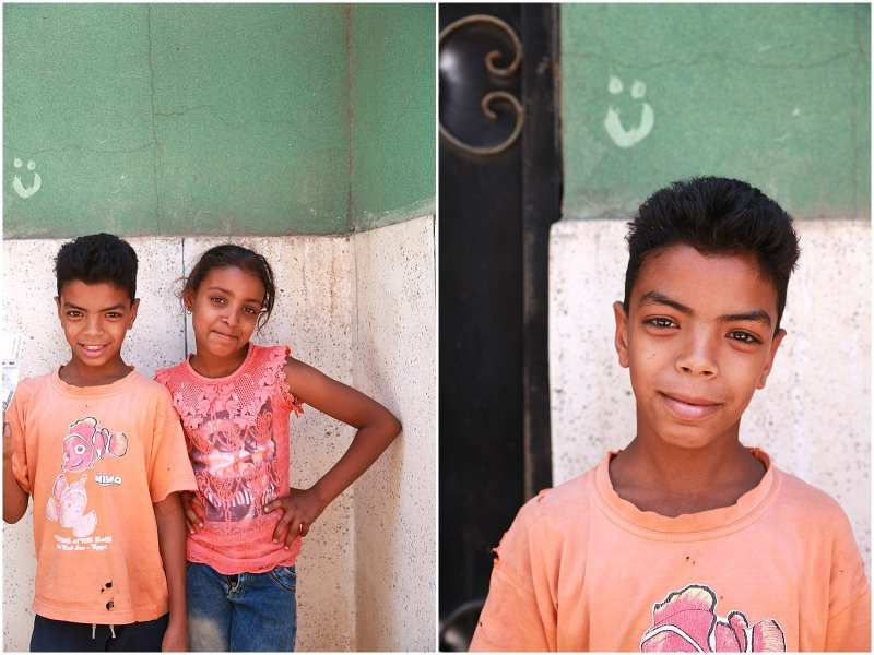 Children of Egypt Luxor photographed by children's photographer Helena Woods