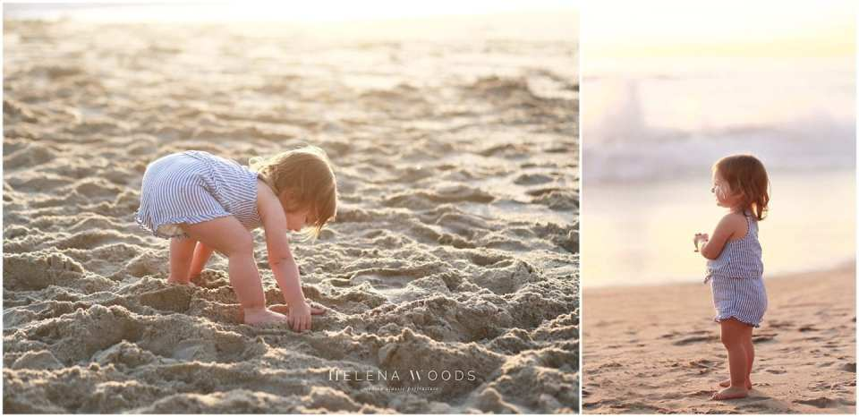 Helena Woods Connecticut Beach Photographer shares on her top tips on photographing kids at a family beach photo shoot