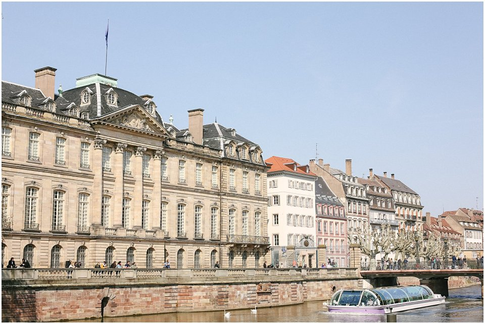 Palais Rohan in Strasbourg France in Alsace