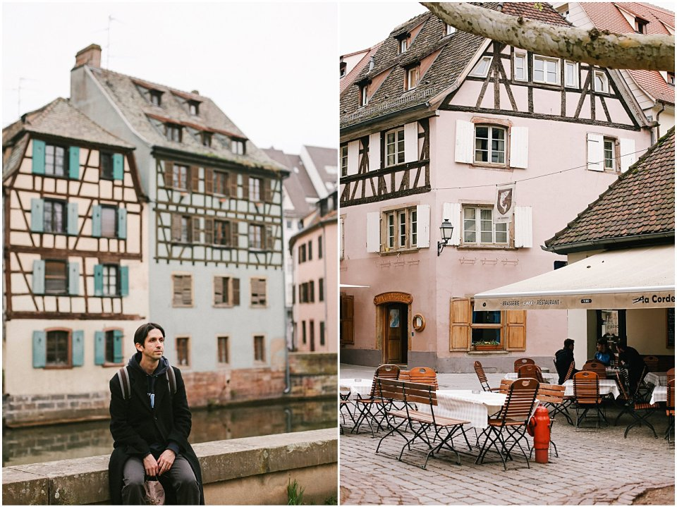 American girl living in France Strasbourg Alsace Petite France