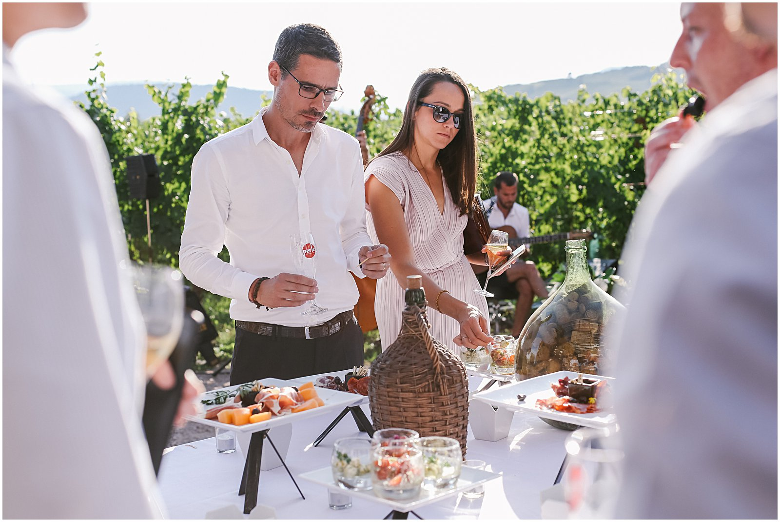 Achilles Domaine Winery and Vineyards wedding in Alsace France photographed by Helena Woods