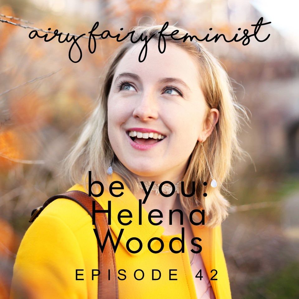 Helena Woods interviewed on the spiritual podcast Airy Fairy Feminist with Charlotte Kaye about boundary setting, working as a freelancer, hygge and living from your intuition