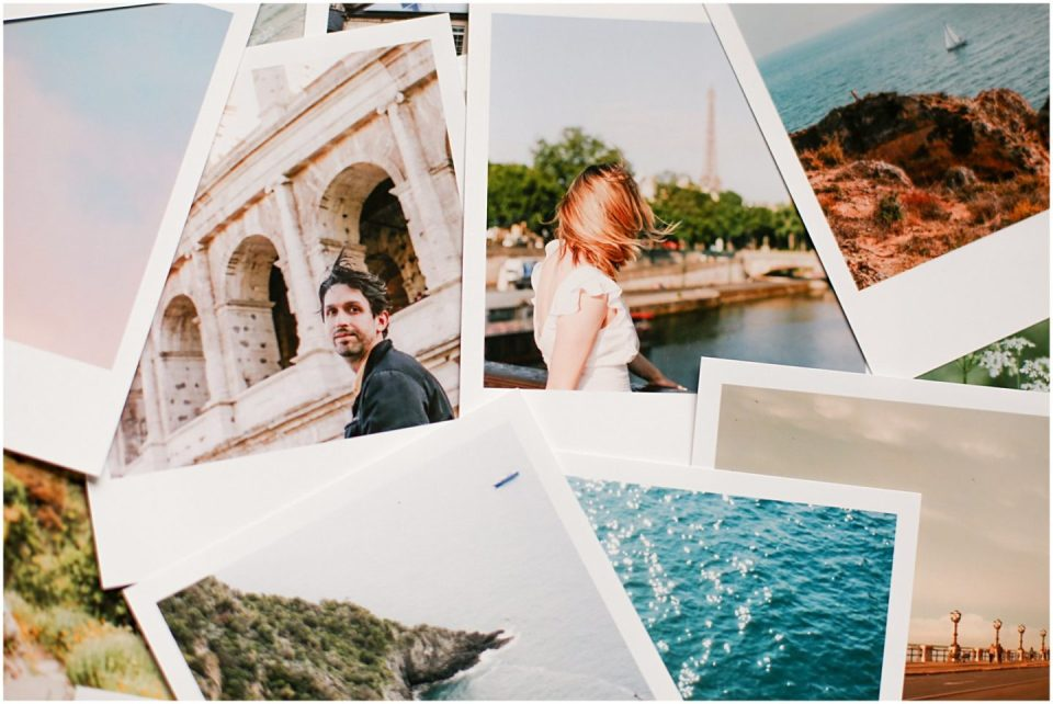 LALALAB printed polaroid photos by Helena Woods Photography