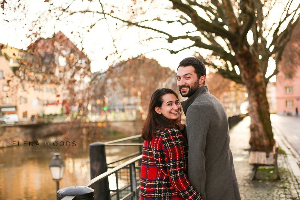 alsace engagement photographer photographer proposal in Strasbourg France | Helena Woods