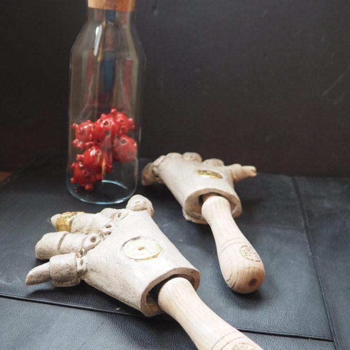 Germ Theory sculpture