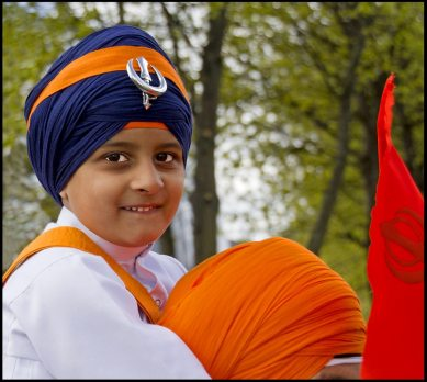 Boy in Turban